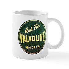 Valvoline Vintage dieselpunk signboard Small Mug