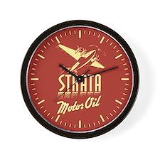 Strata Vintage dieselpunk signboard Wall Clock