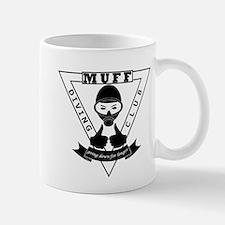 MUFF diving club logo shop Small Mug