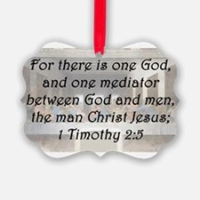 1 Timothy 2:5 Ornament