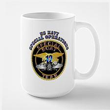 SOF - Special Boat Team 12 Large Mug