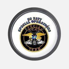 SOF - Special Boat Team 12 Wall Clock