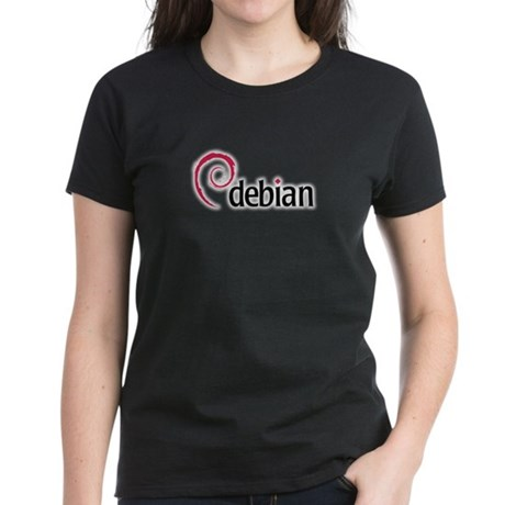 Dark Women's Debian T-Shirt