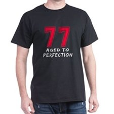 77 Year birthday designs T-Shirt