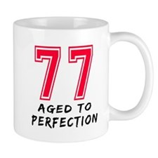 77 Year birthday designs Mug