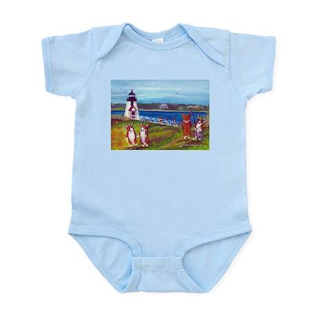 Brant Point Light Infant Bodysuit