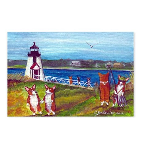 Brant Point Light Postcards (Package of 8)