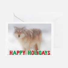 Wolf Holiday Greeting Cards (Pk of 10)