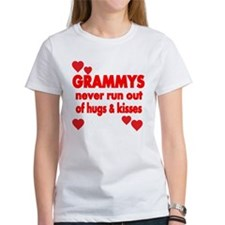 GRAMMYS NEVER RUN OUT OF HUGS KISSES T-Shirt