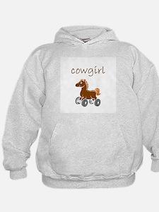 cowgirl.bmp Hoodie