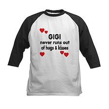 GIGI NEVER RUNS OUT OF HUGS KISSES Baseball Jersey