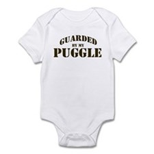 Puggle: Guarded by Infant Bodysuit