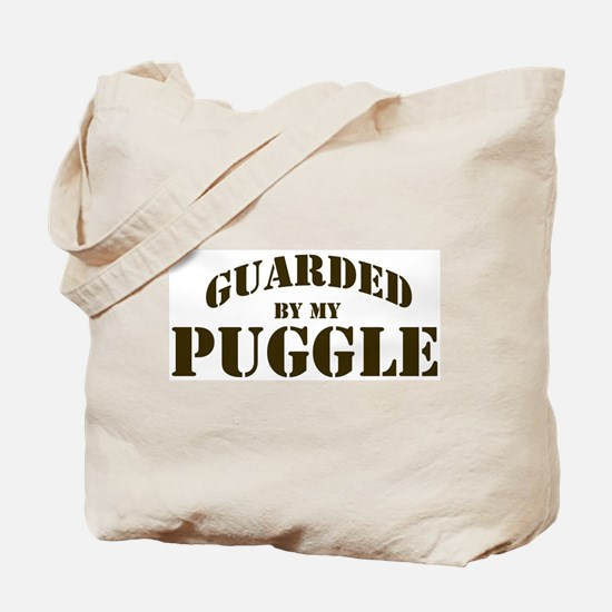 Puggle: Guarded by Tote Bag