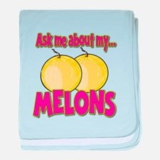 Funny Ask Me About My Melons Funny Innuendo baby b