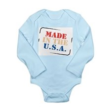 Made in the USA Infant Creeper Body Suit