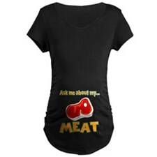 Funny Ask Me About My Meat Steak Butcher Humor Mat