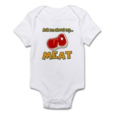 Funny Ask Me About My Meat Steak Butcher Humor Inf