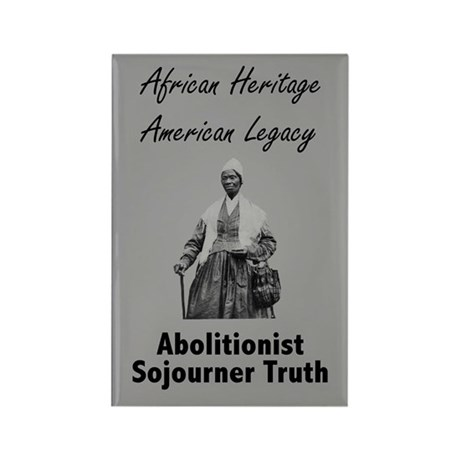 Sojourner Truth Rectangle Magnet (10 pack)