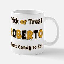Roberto Trick or Treat Mug