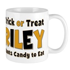 Riley Trick or Treat Mug