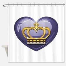 Noble Heart Shower Curtain