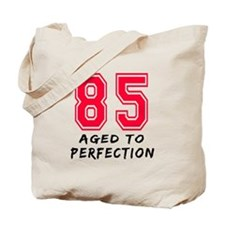 85 Year birthday designs Tote Bag