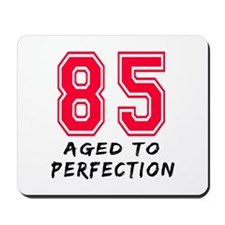 85 Year birthday designs Mousepad