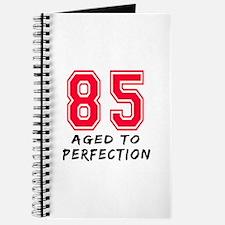 85 Year birthday designs Journal