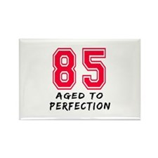 85 Year birthday designs Rectangle Magnet