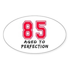85 Year birthday designs Decal