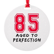 85 Year birthday designs Ornament