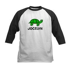 Jocelyn Turtle Gift Kids Baseball Jersey
