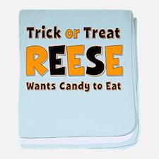 Reese Trick or Treat baby blanket