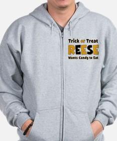 Reese Trick or Treat Zip Hoodie