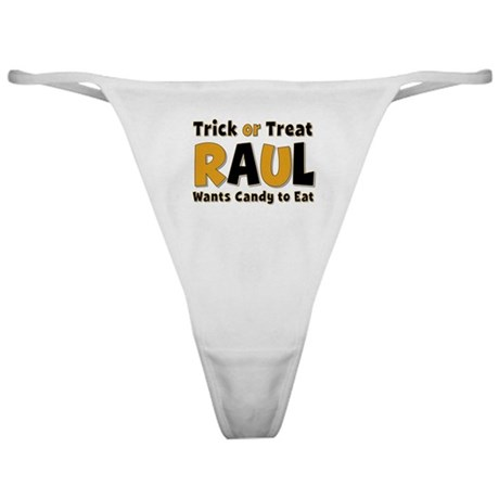 Raul Trick or Treat Classic Thong