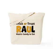 Raul Trick or Treat Tote Bag
