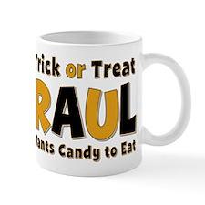 Raul Trick or Treat Mug