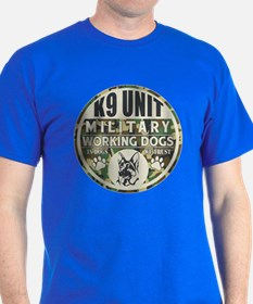 K9 Unit Military Working Dogs T-Shirt
