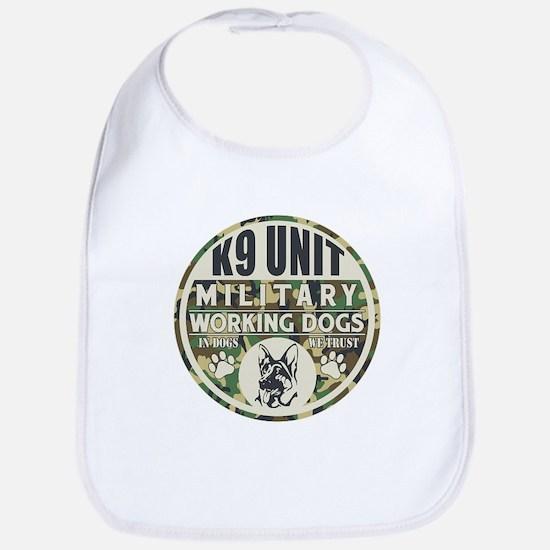 K9 Unit Military Working Dogs Bib
