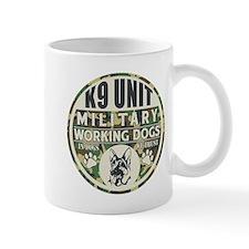K9 Unit Military Working Dogs Mug