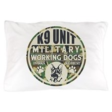 K9 Unit Military Working Dogs Pillow Case