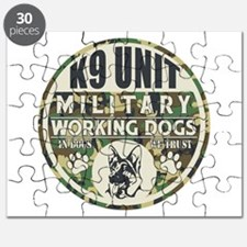 K9 Unit Military Working Dogs Puzzle