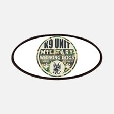 K9 Unit Military Working Dogs Patch