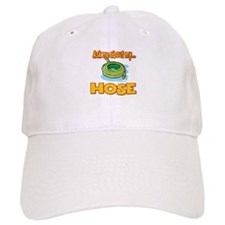 Funny Ask Me About My Hose Innuendo Design Baseball Cap