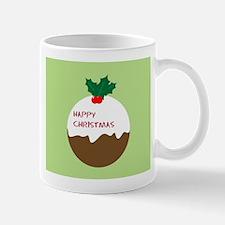 christmas pudding Small Small Mug