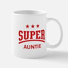 Super Auntie (Red) Mug