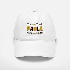 Paula Trick or Treat Baseball Baseball Baseball Cap