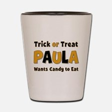 Paula Trick or Treat Shot Glass