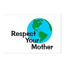 Respect Your Mother Postcards (Package of 8)
