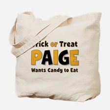 Paige Trick or Treat Tote Bag